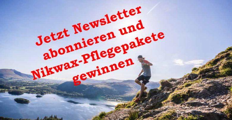 Photo of Jetzt Newsletter abonnieren und  Nikwax-Pflegepaket gewinnen