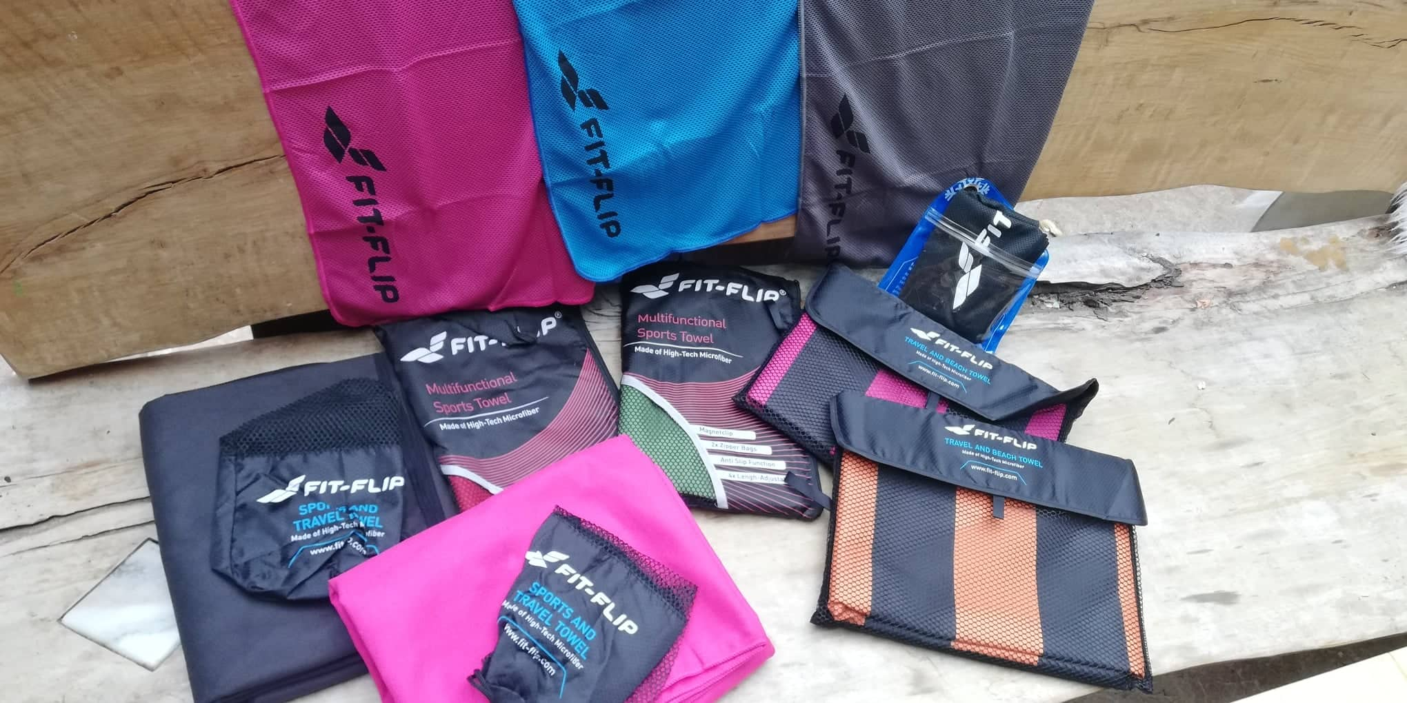 (c)be-outdoor.de - Fit-Flip Handtücher im Produkttest
