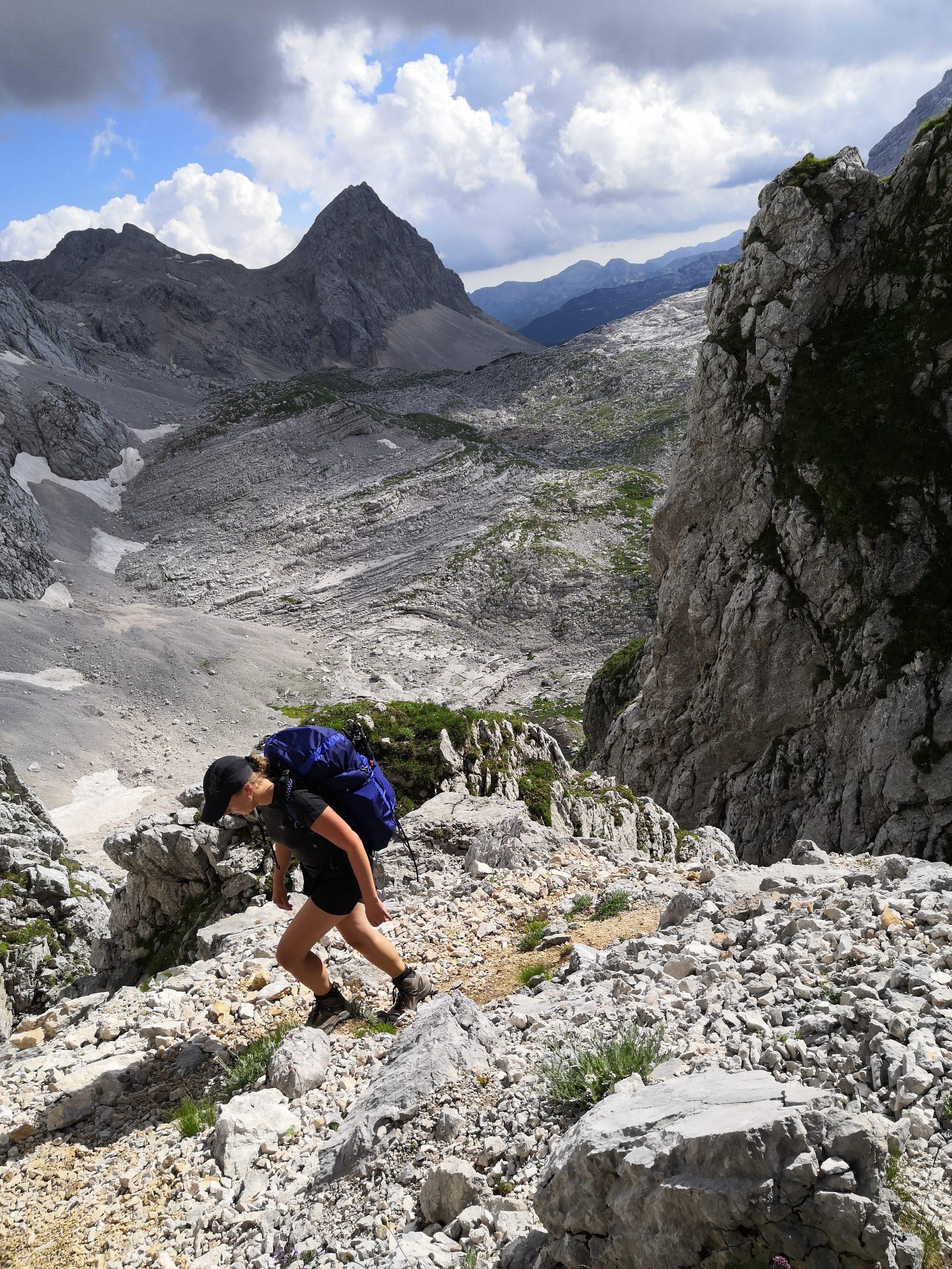 Merino Light T-Shirt Damen - Julische Alpen, Slowenien