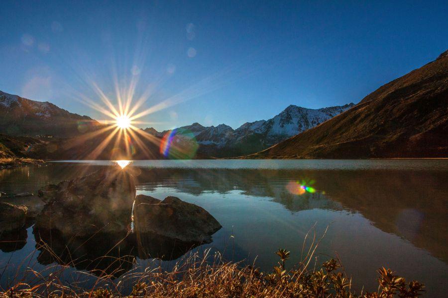 (c)Rifflsee - Sonnenaufgang