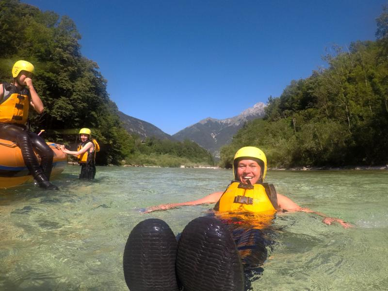(c)be-outdoor.de - Rafting im Kamp Koren mit positive-sport.com