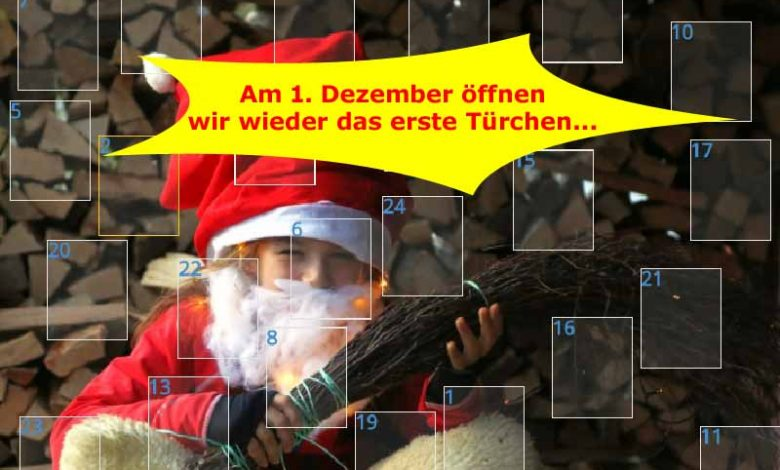 (c)be-outdoor.de - Adventskalender