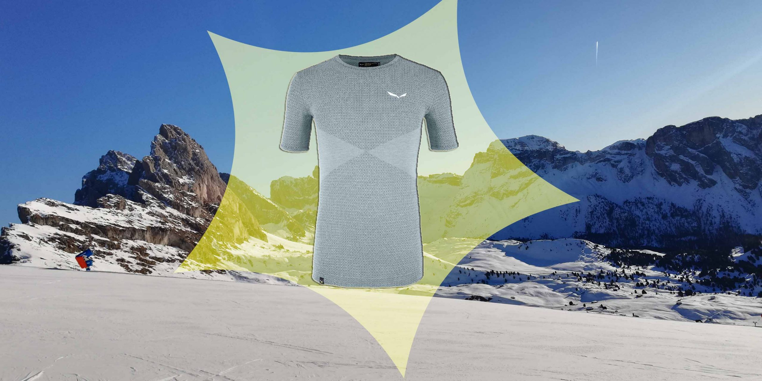 (c)Collage be-outdoor.de - Salewa Baselayer Zebru