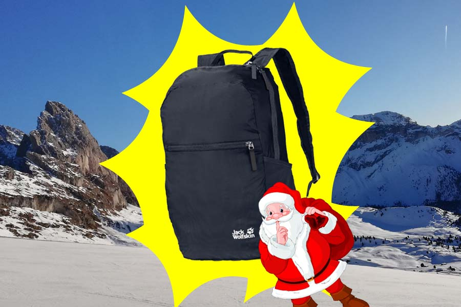 (c)be-outdoor.de Adventskalender 2020 - Jack Wolfskin Tagesrucksack