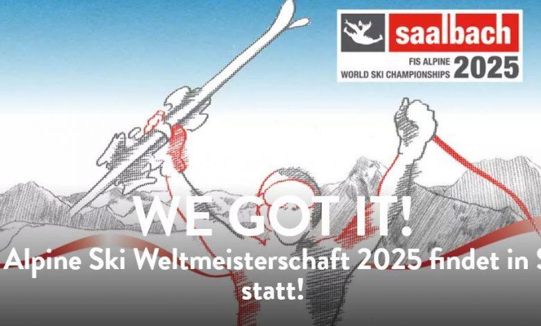 Photo of SKI WM 2025 – SAALBACH ERHÄLT ZUSCHLAG