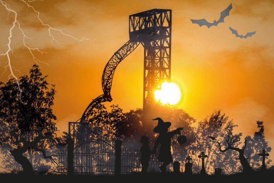 (c)Skyline Park Halloween