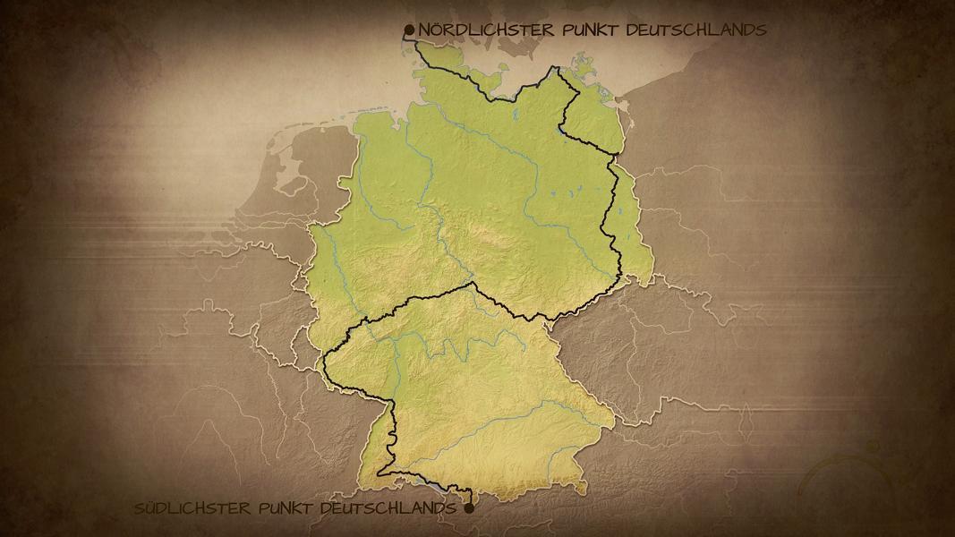 (c)Enno Seifried - 3442Km - Deutschland zu Fuß - Die Route