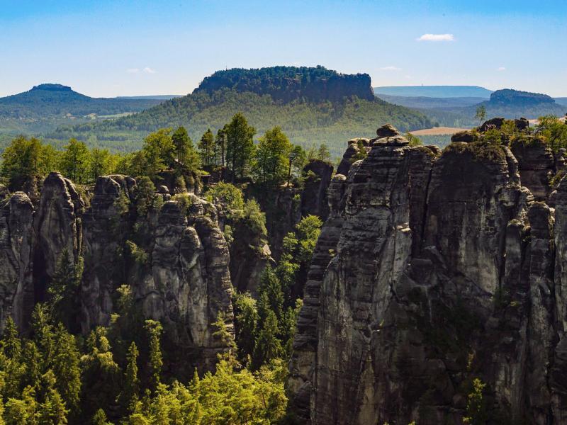 (c)Enno Seifried - 3442Km - Deutschland zu Fuß - Elbsandsteingebirge