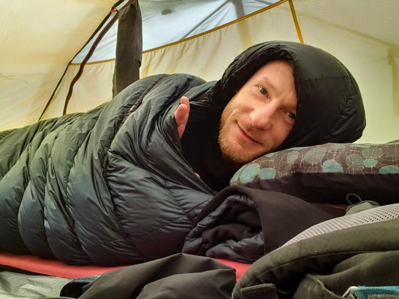 (c)Enno Seifried - 3442Km - Deutschland zu Fuß - Im Zelt zu Hause
