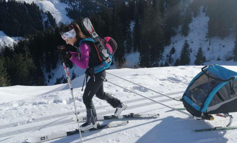Photo of Kufen statt Kurven – mit dem Burley Ski Kit auf Tour