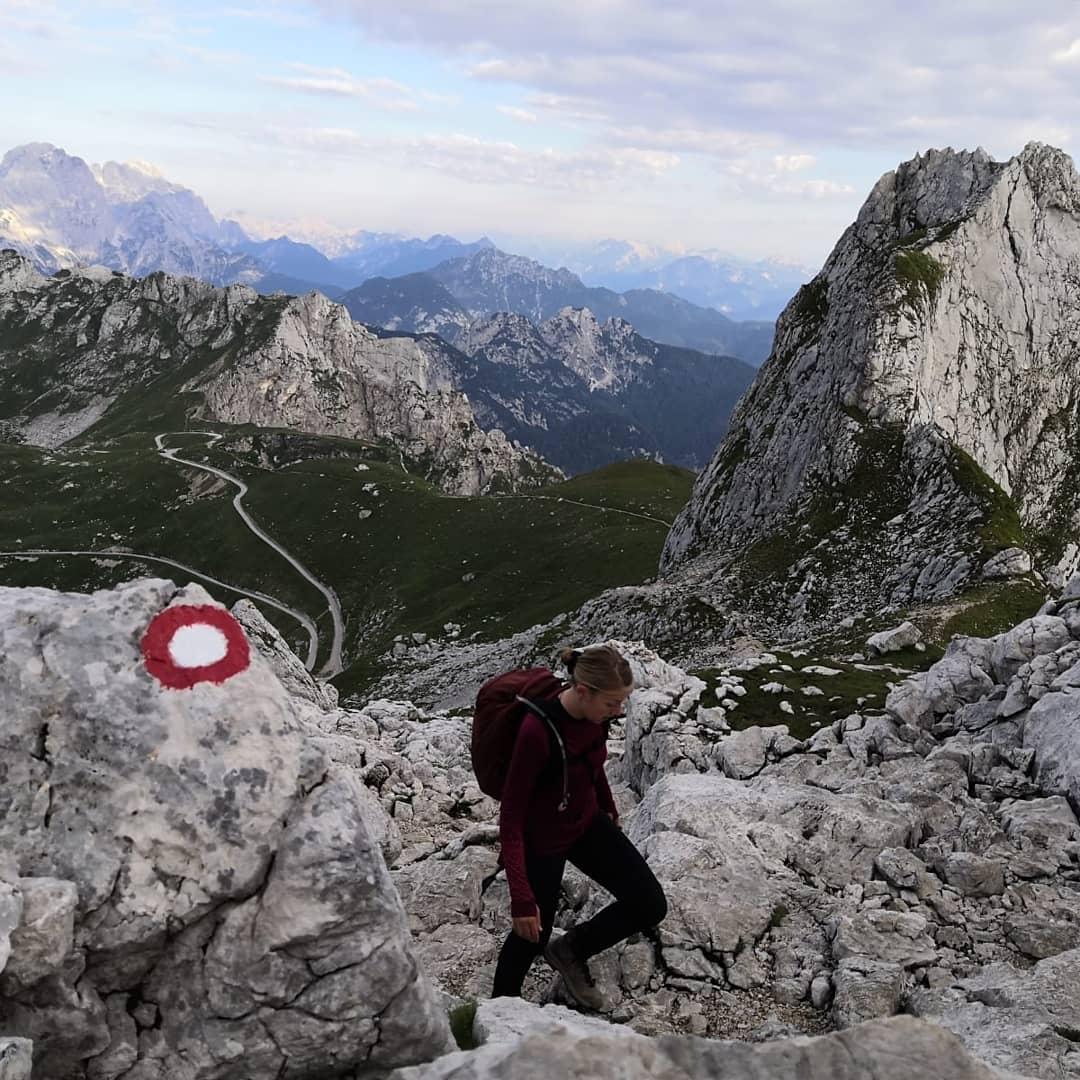 Gipfeltour mit dem Metron von Osprey auf den 3. höchsten Berg Sloweniens