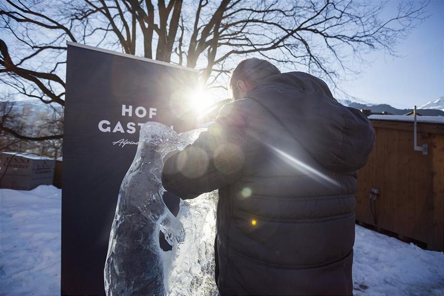 (c)Gasteinertal - Tourismus GmbH auswegerdaniel Art on Snow Eischnitzwettbewerb Bad Hofgastein