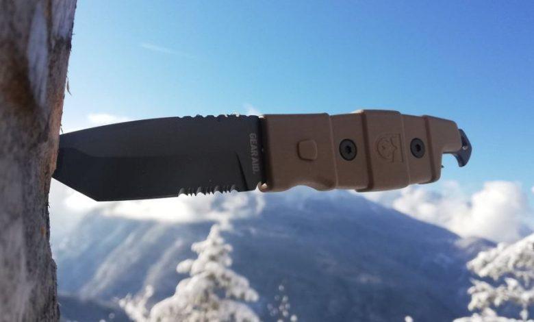 (c)be outdoor.de - Tim Sobinger - Gear Aid Kotu Tanto Knife