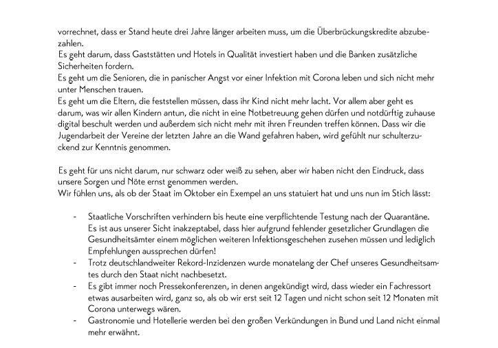 (c)Marktgemeinde Berchtesgaden - Schreiben an Dr. Markus Söder