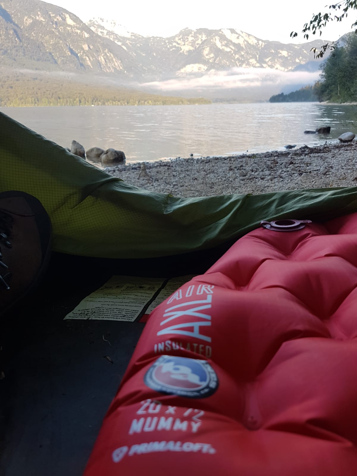 Big Agnes AXL Air Insulated Isomatte - Produkttest in Slowenien