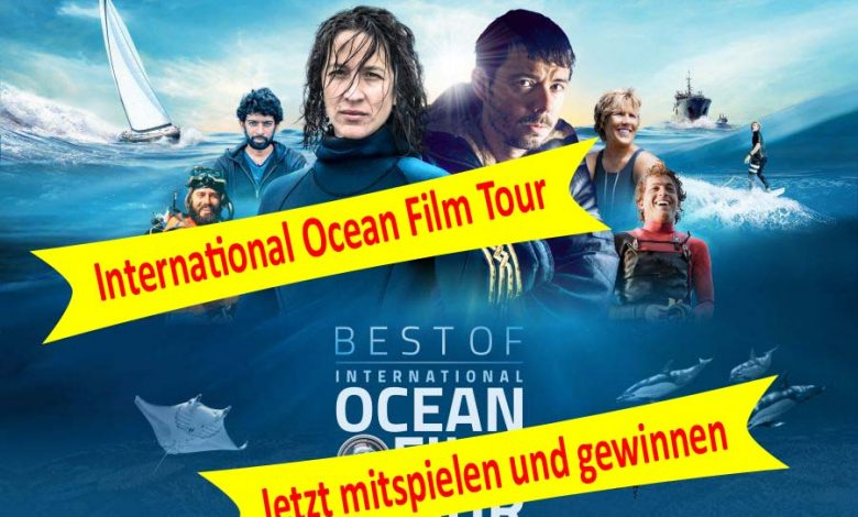 Gewinnspiel - International Ocean Film Tour