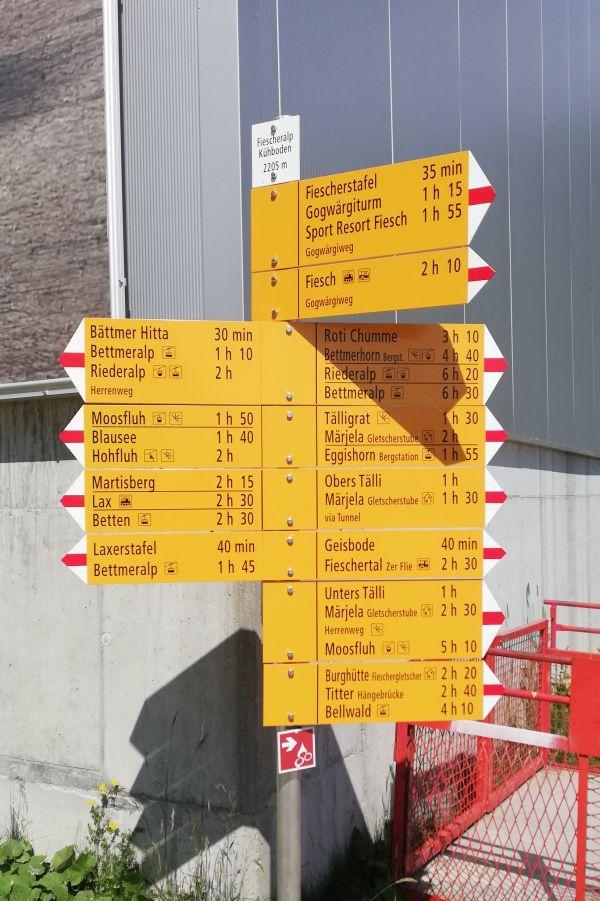 (c)be-outdoor.de - Wandern auf der Fiescheralp