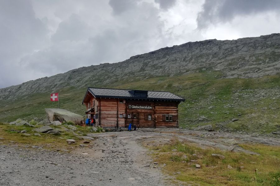 (c)be-outdoor.de - Aletscharena Märjela - Gletscherstube