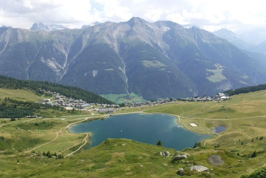 (c)be-outdoor.de - Wanderung Bettmeralp-Aletschgletscher / Katzenlöcher