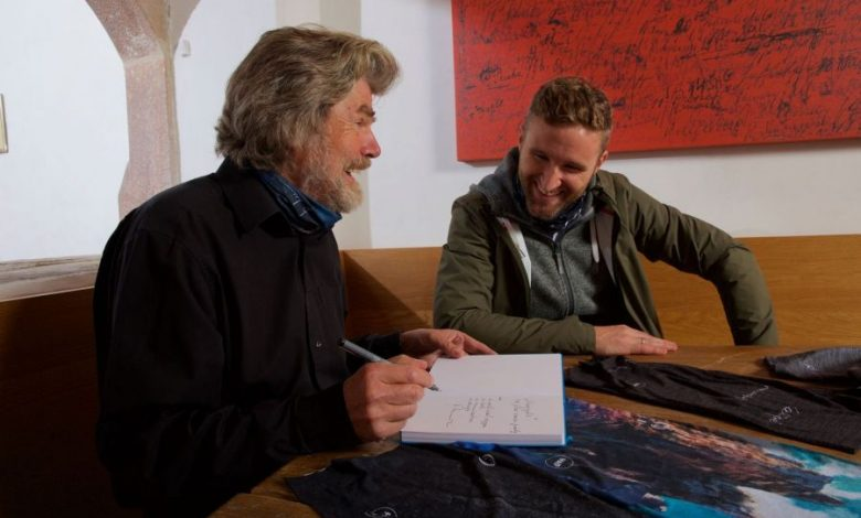 Photo of Reinhold Messner Collection by H.A.D.
