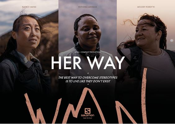 "Photo of Salomon ""Her Way"" – Neue Women Kampagne"
