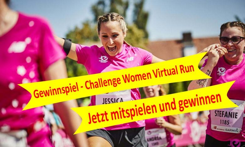 Photo of Gewinnspiel – Challenge Women Virtual Run