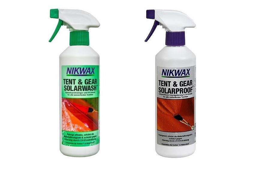(c)Nikwax Tent & Gear Solarwash Solarproof
