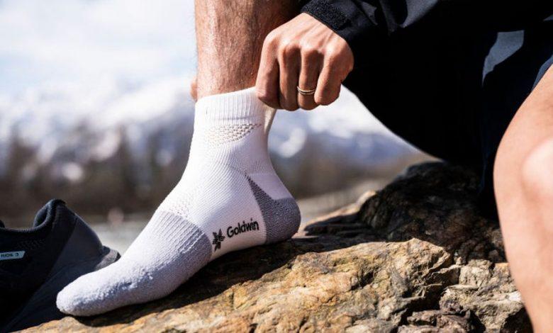 (c)Goldwin Paper Fiber Socks