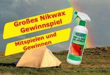 Photo of Gewinnspiel – Nikwax Tent & Gear Solar Wash
