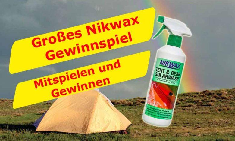 (c)be-outdoor.de - Nikwax Gewinnspiel