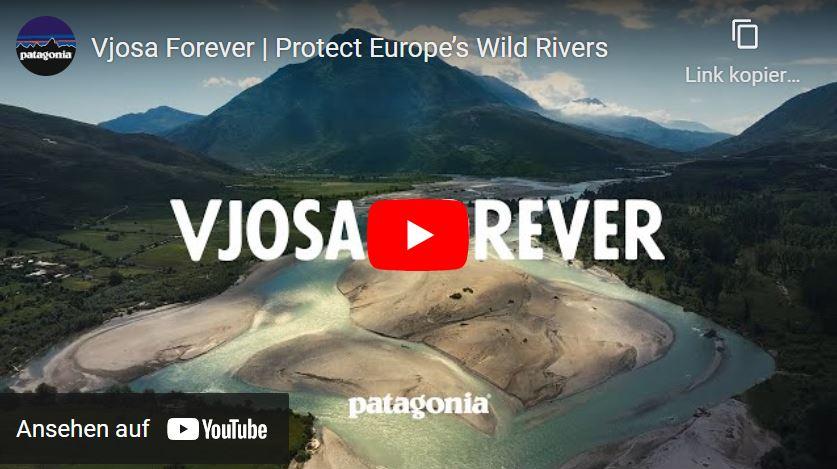 (c)Screenshot YouTube Vjosa Rever #VjosaNationalParkNow