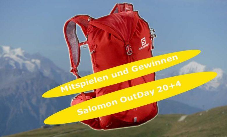 (c)be-outdoor.de - Gewinnspiel Salomon Outday20+4