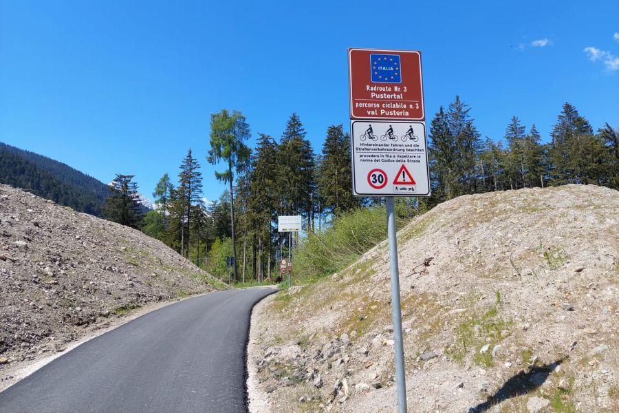 (c)be-outdoor.de - Biketour vom Sporthotel Sillian zur Dreischusterhuette