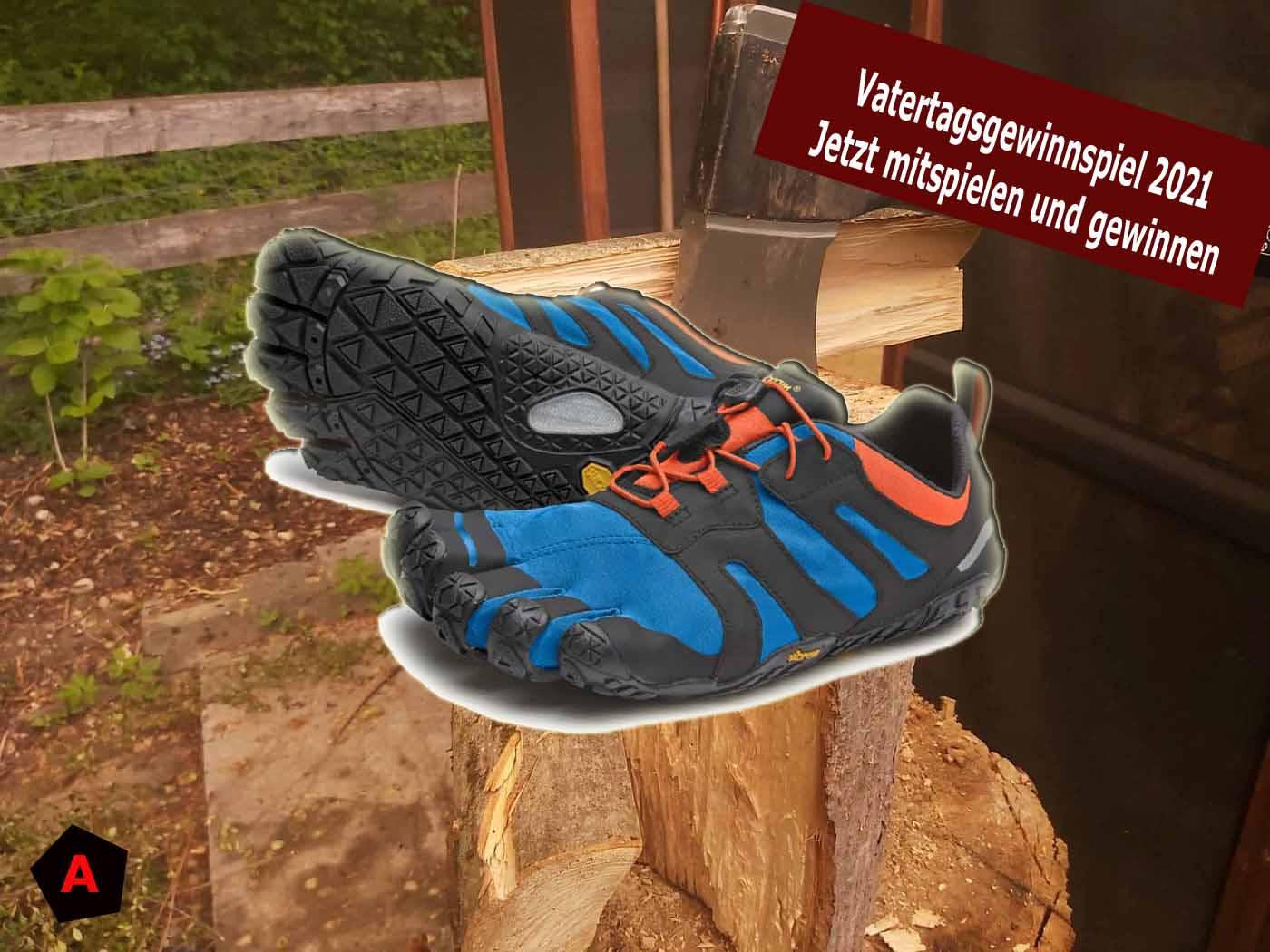 (c)be-outdoor.de Vatertagsgewinnspiel Vibram Five Fingers V2-Trail2