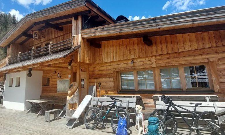 (c)be-outdoor.de MTB Tour Sporthotel Sillian zur Leckfeldalm
