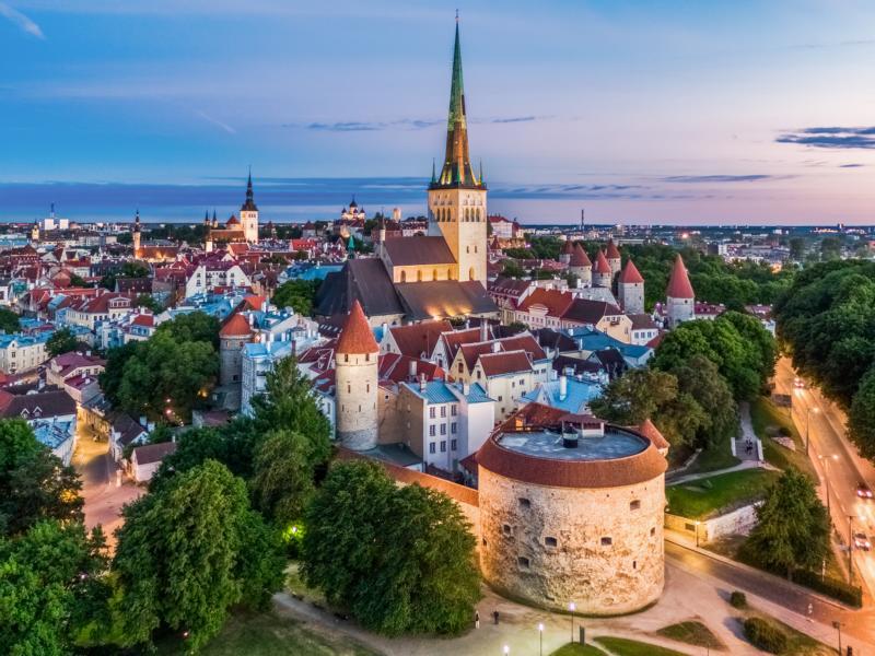 Old Town of Tallinn ©Visit Estonia Kaupo Kalda