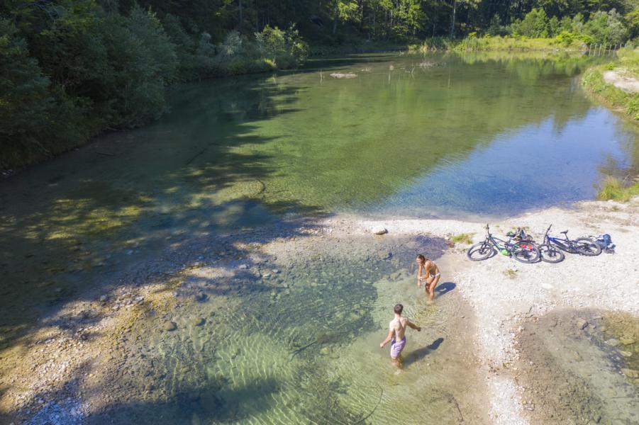 (c)Chiemsee-Chiemgau Tourismus e.V.- Bike and Swim