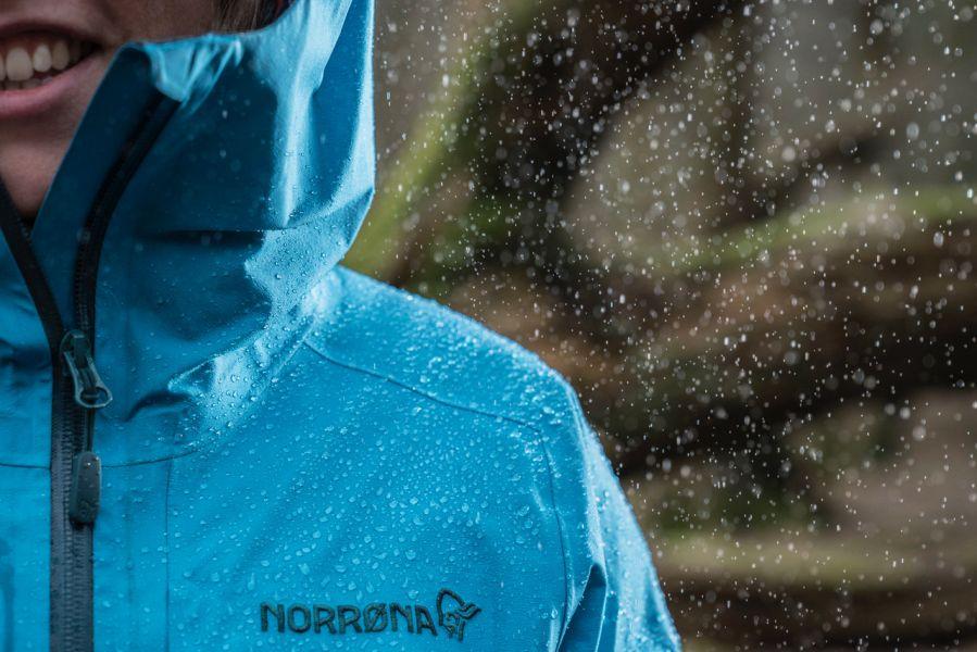 (c)Nikwax Norrona - Biding Blue Jacket