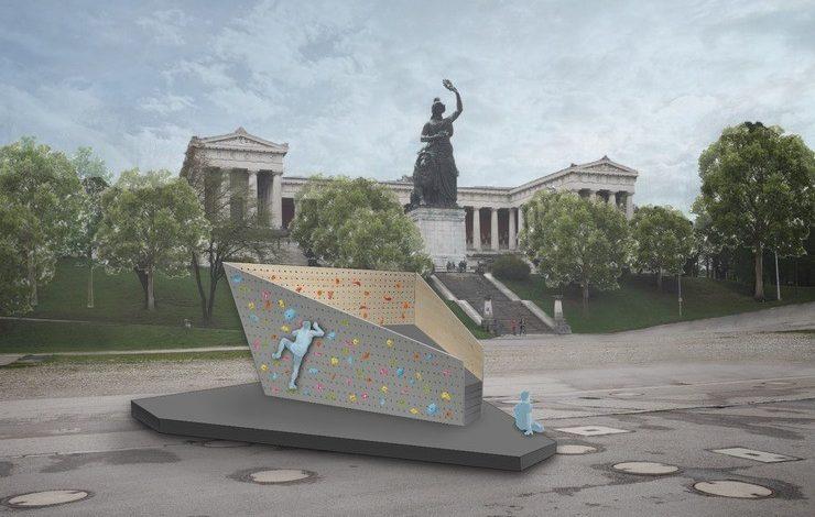 Photo of Kraxlkollektiv eröffnet zweite Boulderwand in München