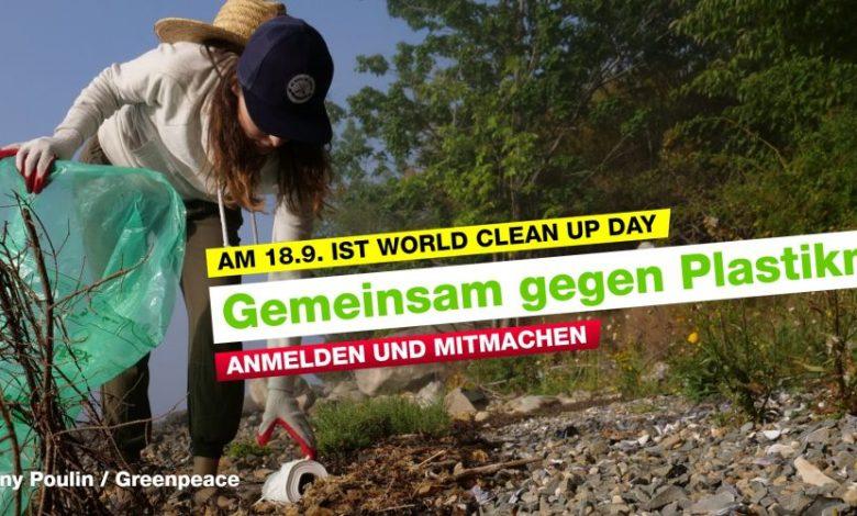 """Photo of Auf zum """"World Clean Up Day"""" – am 18. September"""