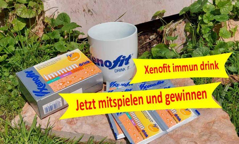 Photo of Gewinnspiel – Xenofit immun drink Paket