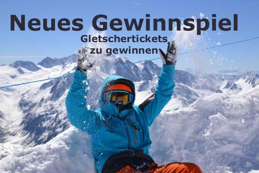 (c)be-outdoor.de - Gewinnspiel Gletschertickets 2021